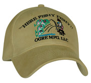 Here Fishy Fishy!! fish attractant hat